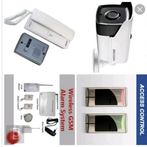 CCTV cameras, intercoms, Gate Motors and Access Control systems Services