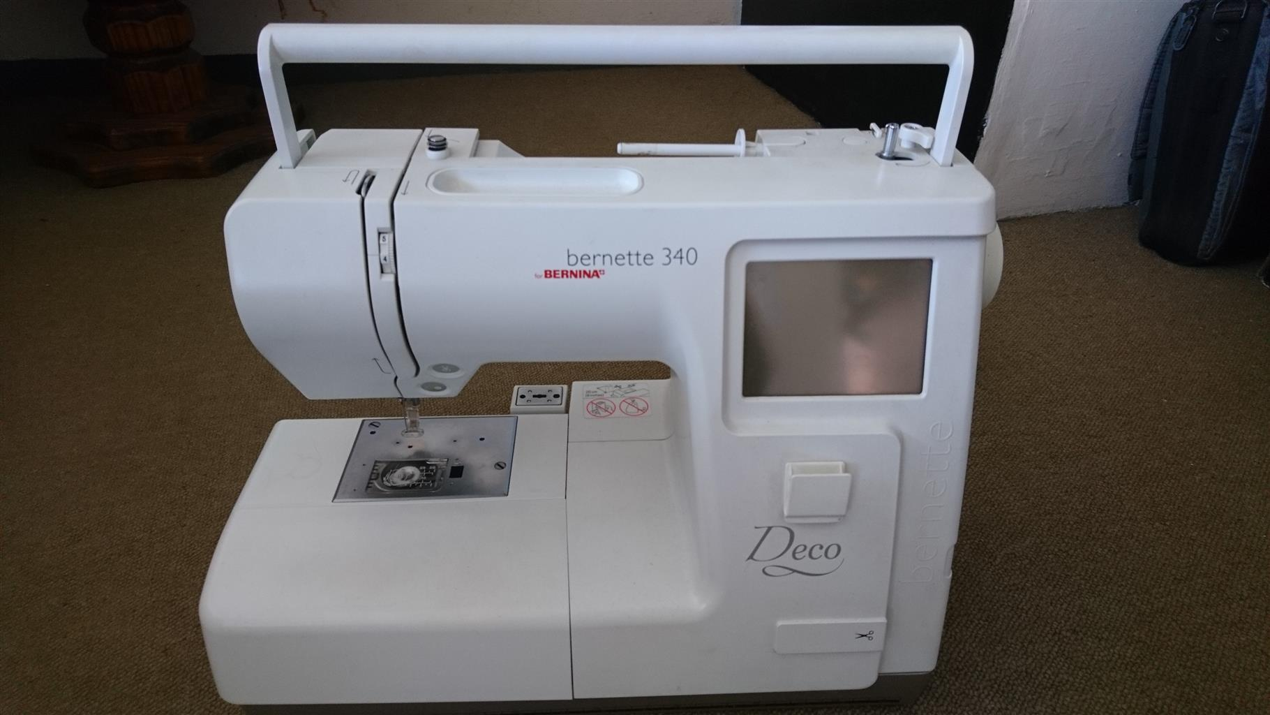 Bernina Bernette 340 embriodery machine