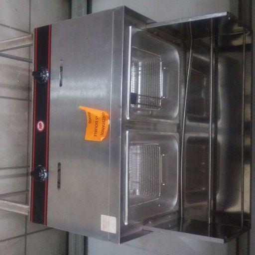 brand new double gas fryer