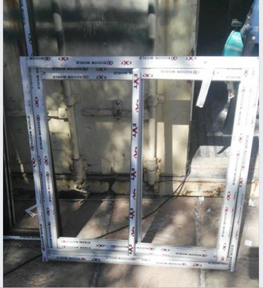 Alluminium sliding window