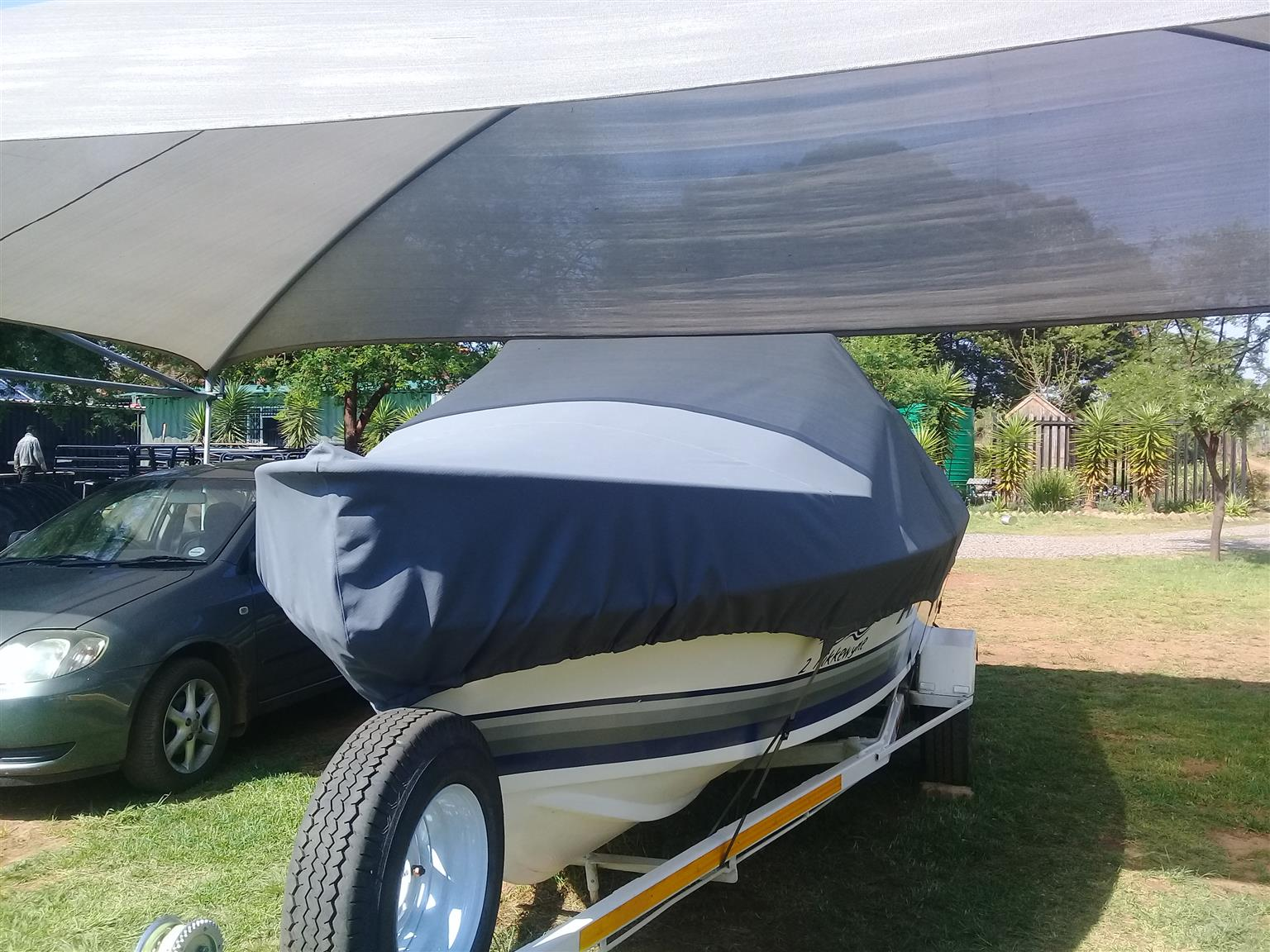 Deep sea / river / dam boat covers and trailer covers