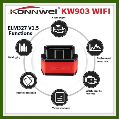KONNWEI KW903 WIFI DONGLE for IOS Android Windows