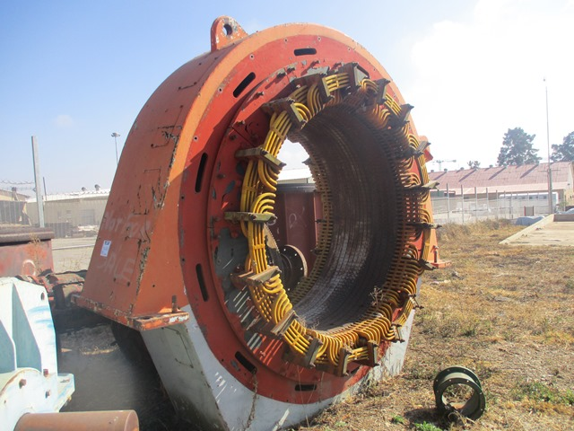 Metropolitan Vickers 3 700 BHP, 496 RPM, 6 600 V Induction Motor - ON AUCTION