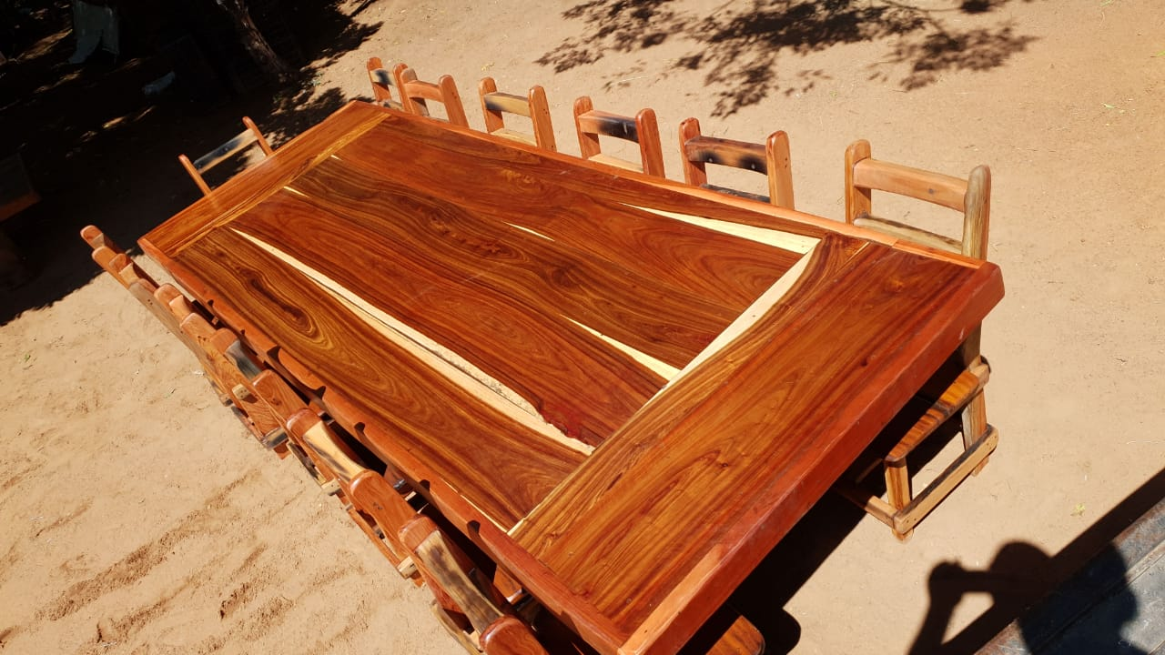 Diningroom / garden sleeper furniture