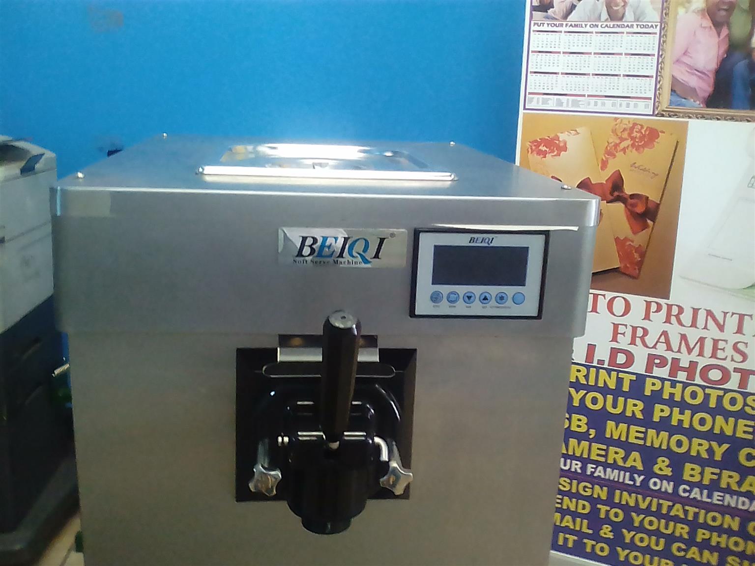 LATEST MODEL ICE CREAM MACHINE WHICH COUNT ICE CREAMS SOLD PER DAY