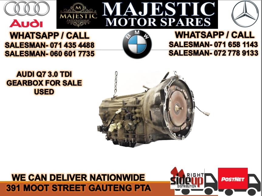 Audi Q7 3.0 TDI auto gearbox for sale