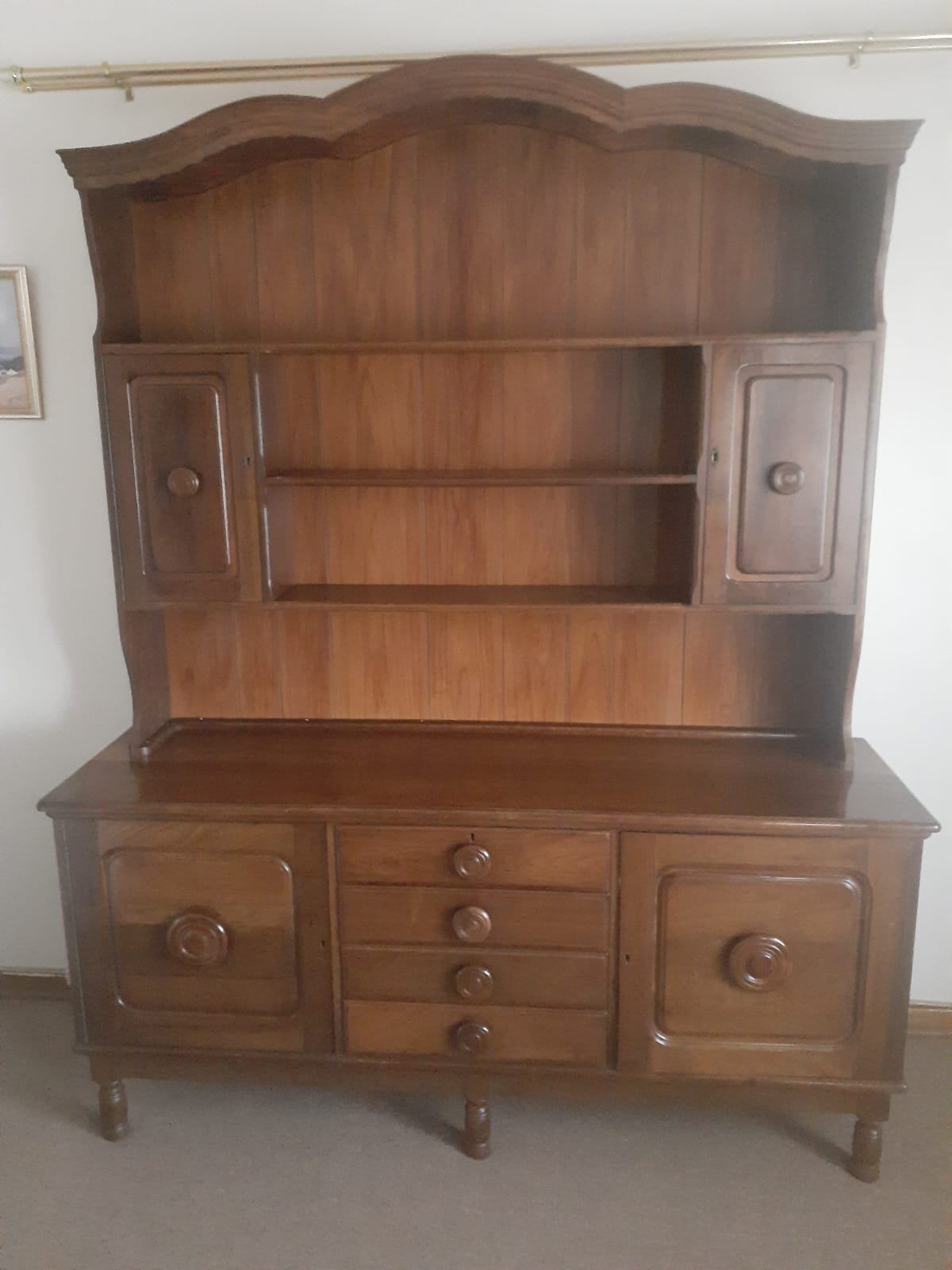 Solid dining sideboard