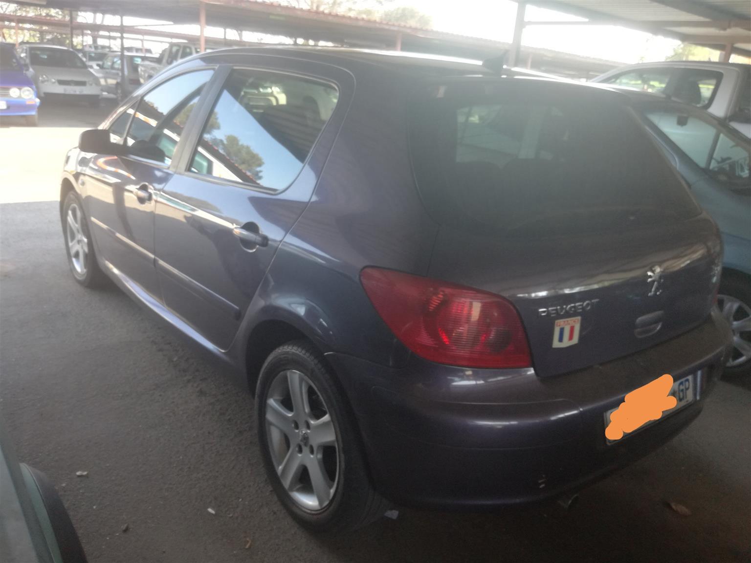 2002 Peugeot 307 2.0 SW XS