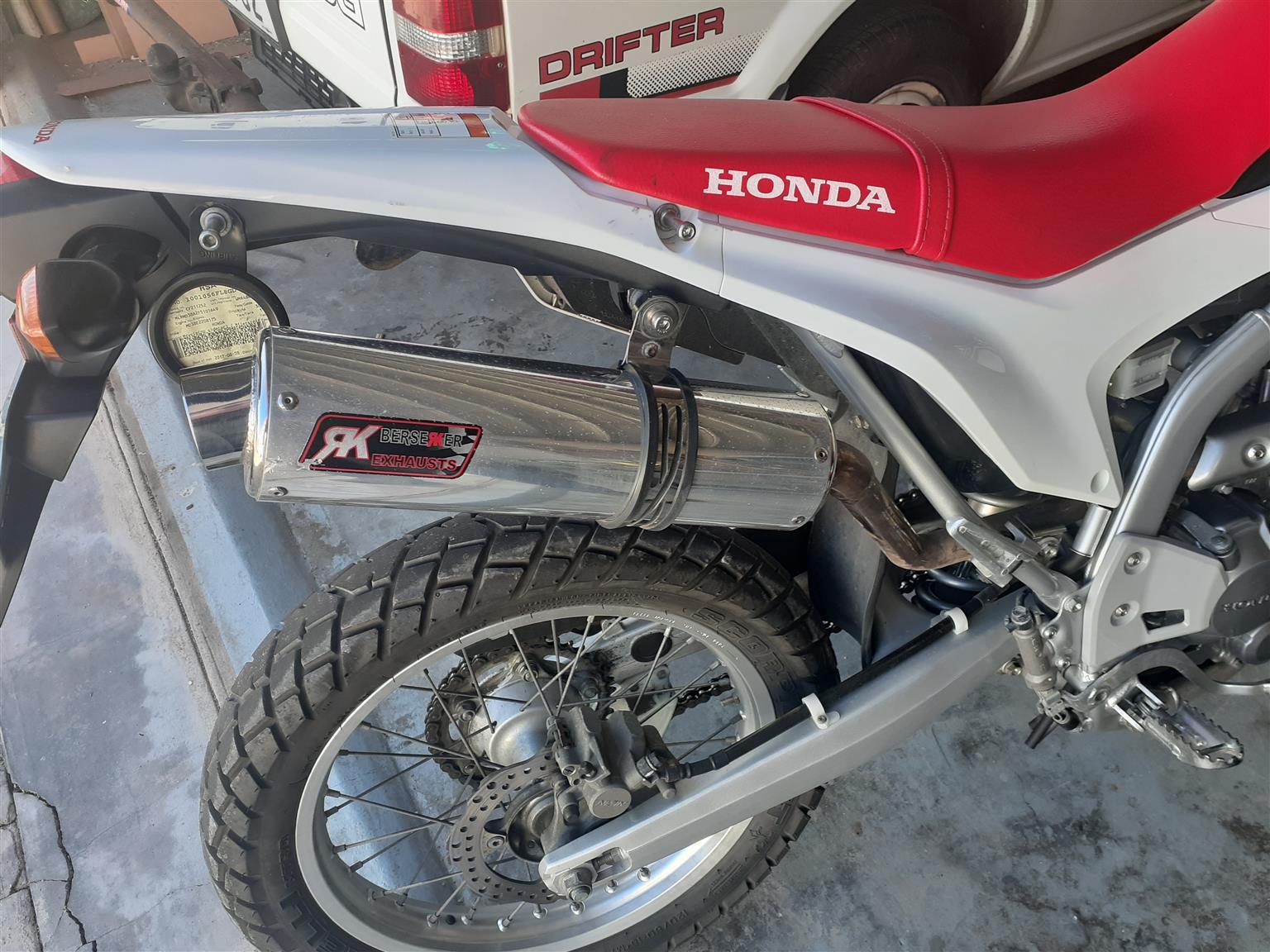 Honda Crf250l Looking for standard OEM exhaust