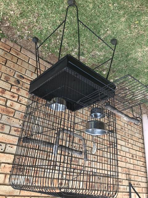 Large parrot cage and a small bird cage for sale in Centurion - two cages BARGAIN !!!