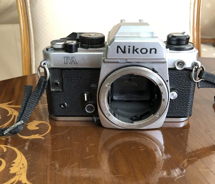 NIKON FA 35 mm PHOTO CAMERA BODY