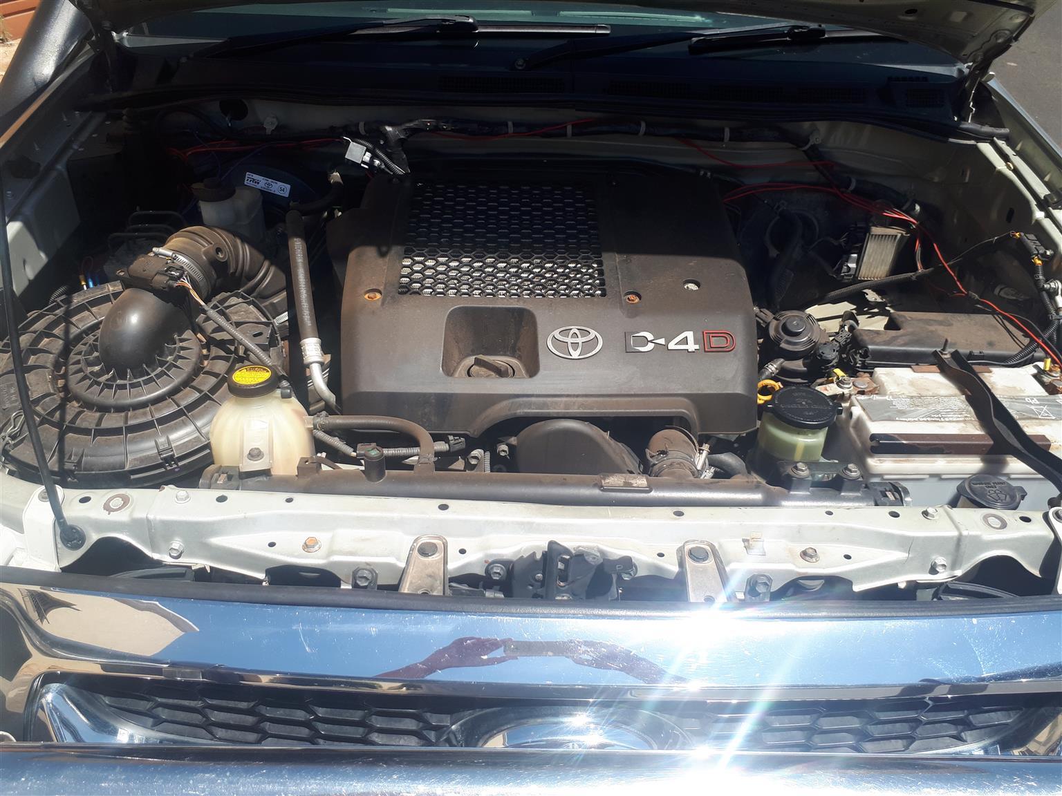 2010 Toyota Hilux double cab HILUX 3.0 D 4D RAIDER 4X4 A/T P/U D/C