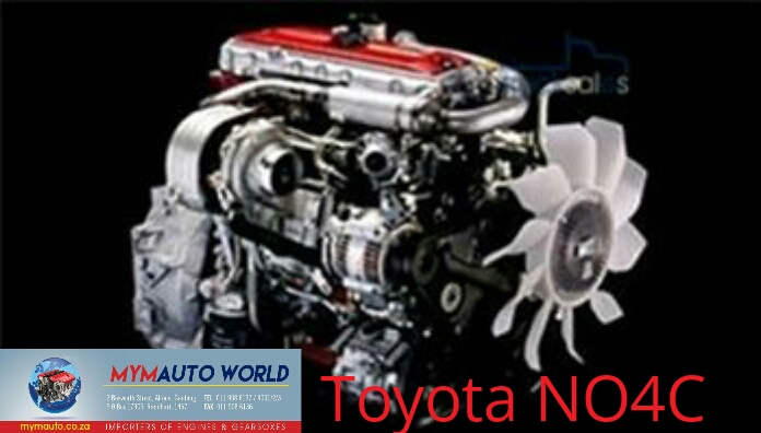 Imported used  TOYOTA COASTER 4.0L, NO4C engine Complete