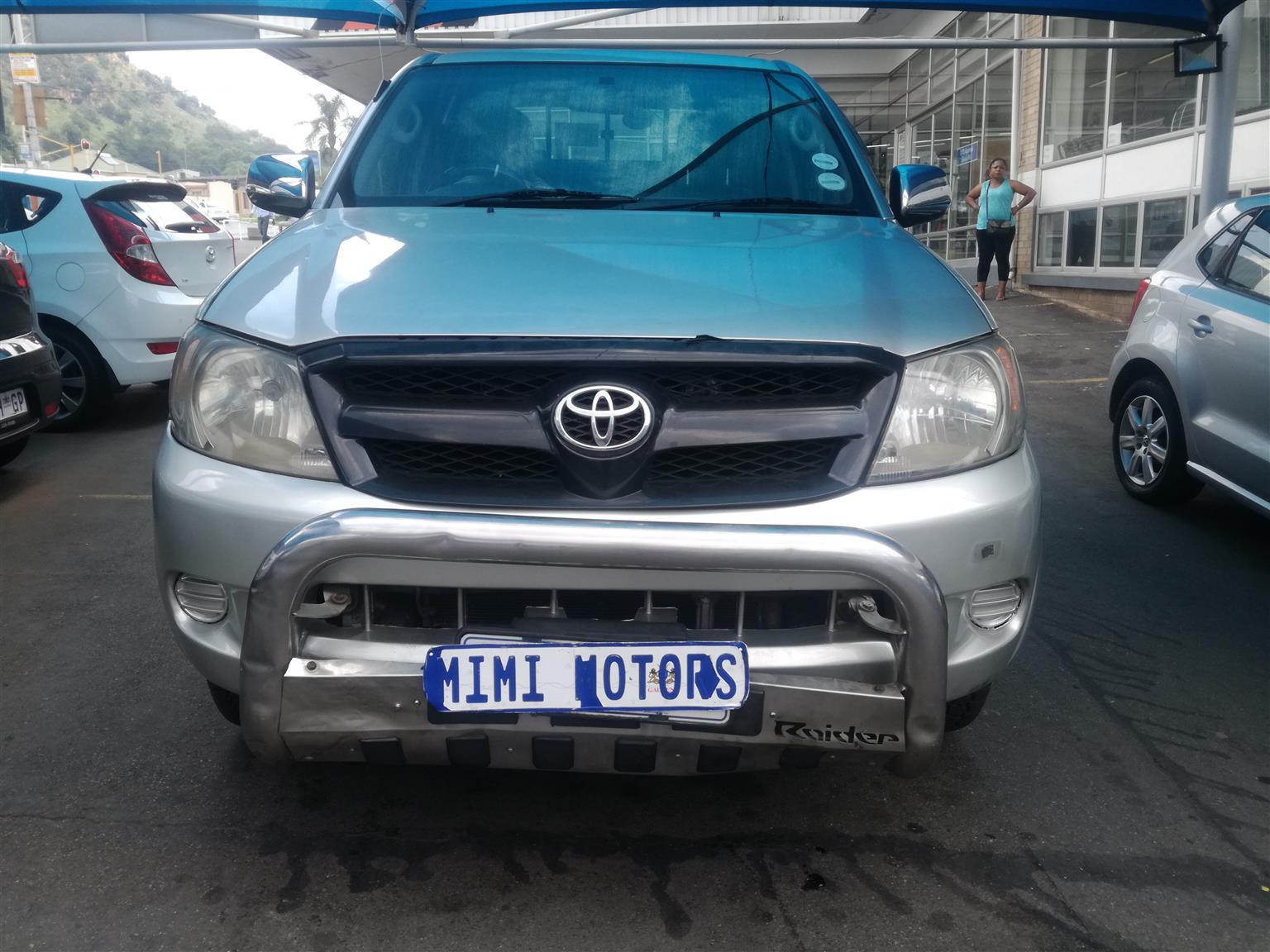 2006 Toyota Hilux double cab HILUX 2.7 VVTi RB S P/U D/C