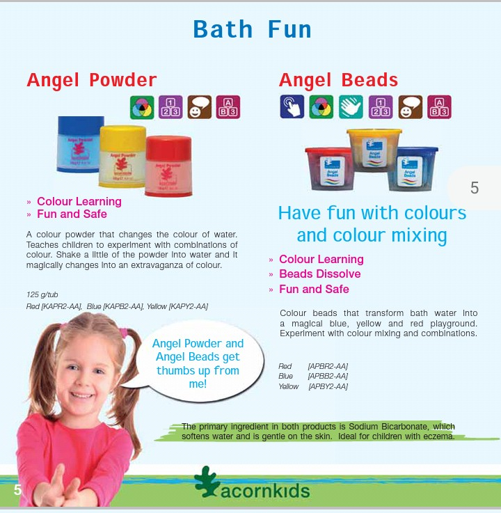 AcornKids Products/ Sign up As Dealer