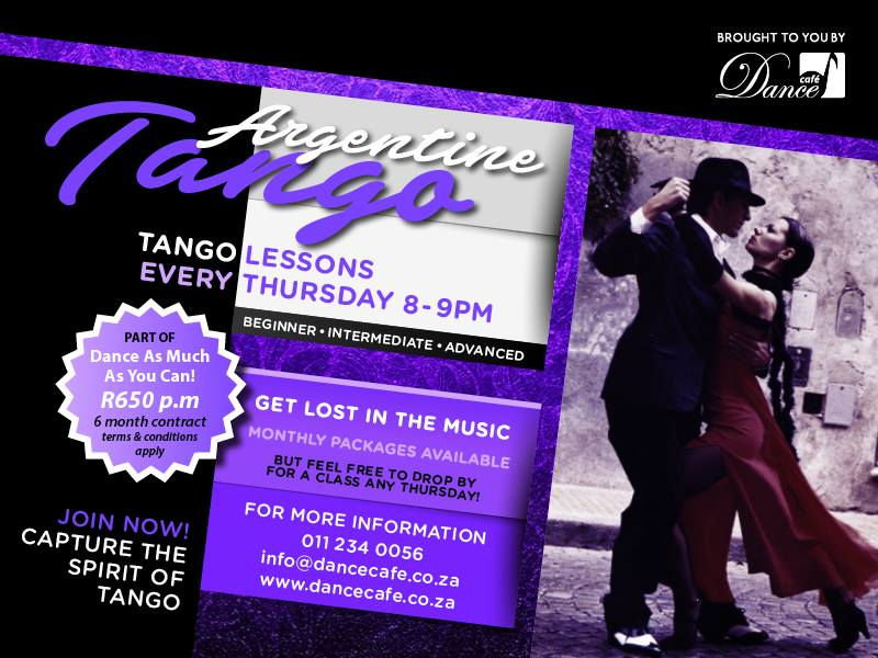 Beginners Argentine Tango Lessons