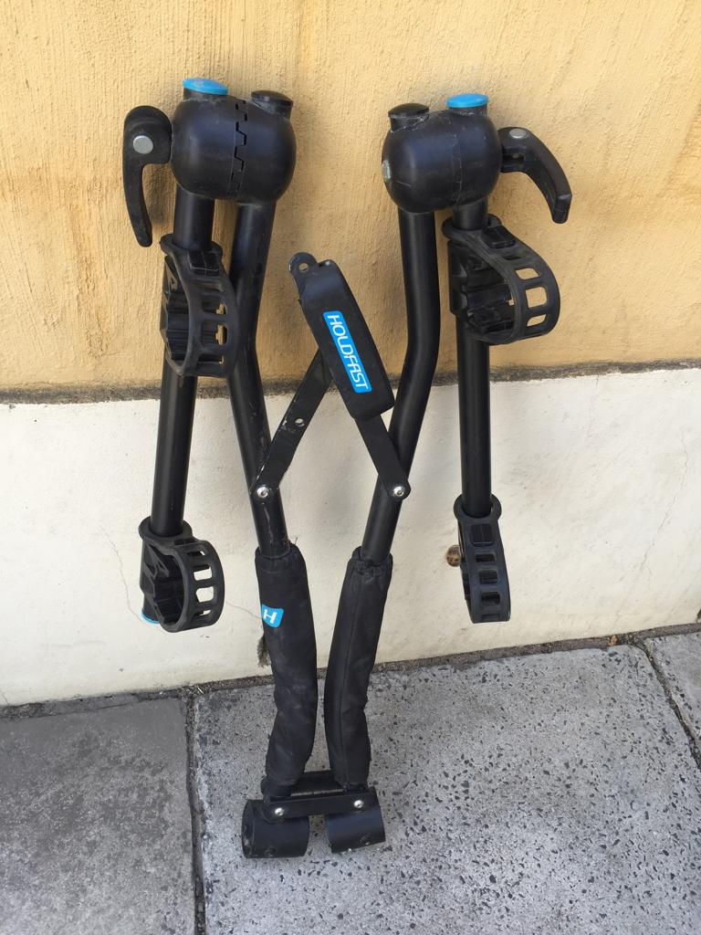 Holdfast Snap On 2-Bike Carrier – As easy as 1-2-3 !