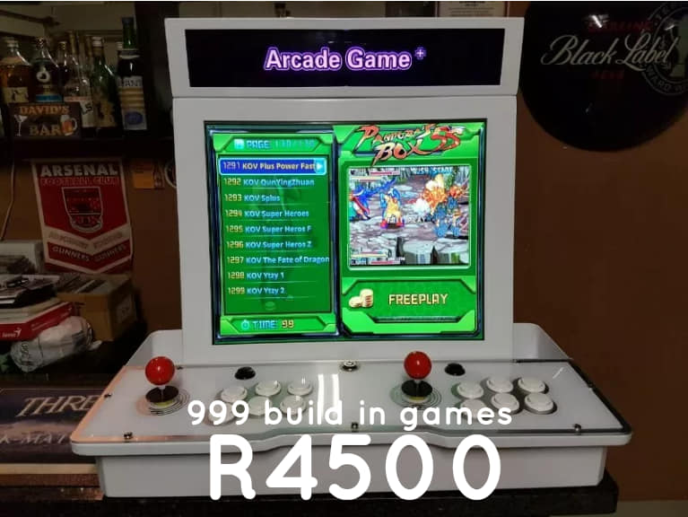 Brand new Pandora's Box arcade  classic games with LCD screen