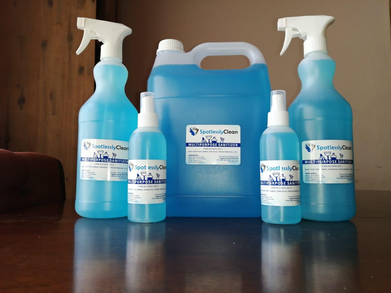 Multipurpose alcohol alternative, foodgrade Sanitizers