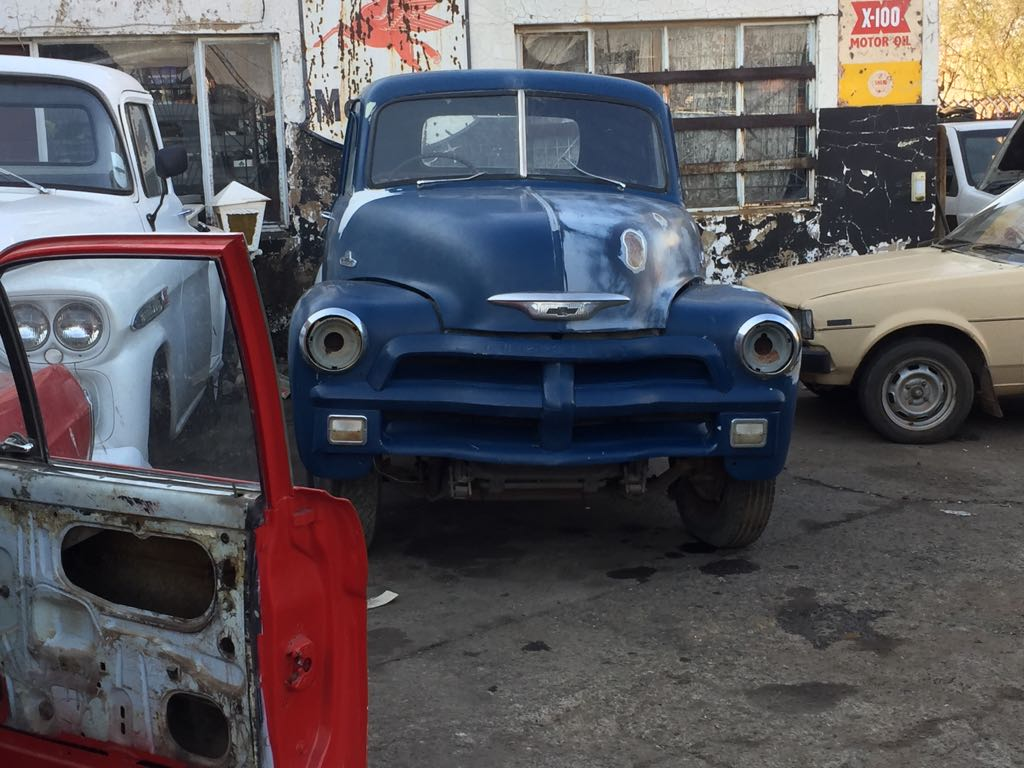 Project 1954 Chevrolet 3100 Pickup Junk Mail Pick Up