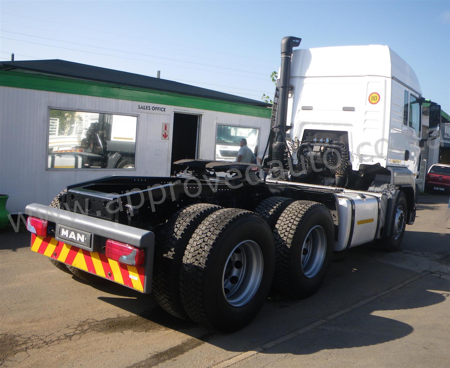 2015 MAN TGS 26-440 6×4 Truck Tractor - AA3023