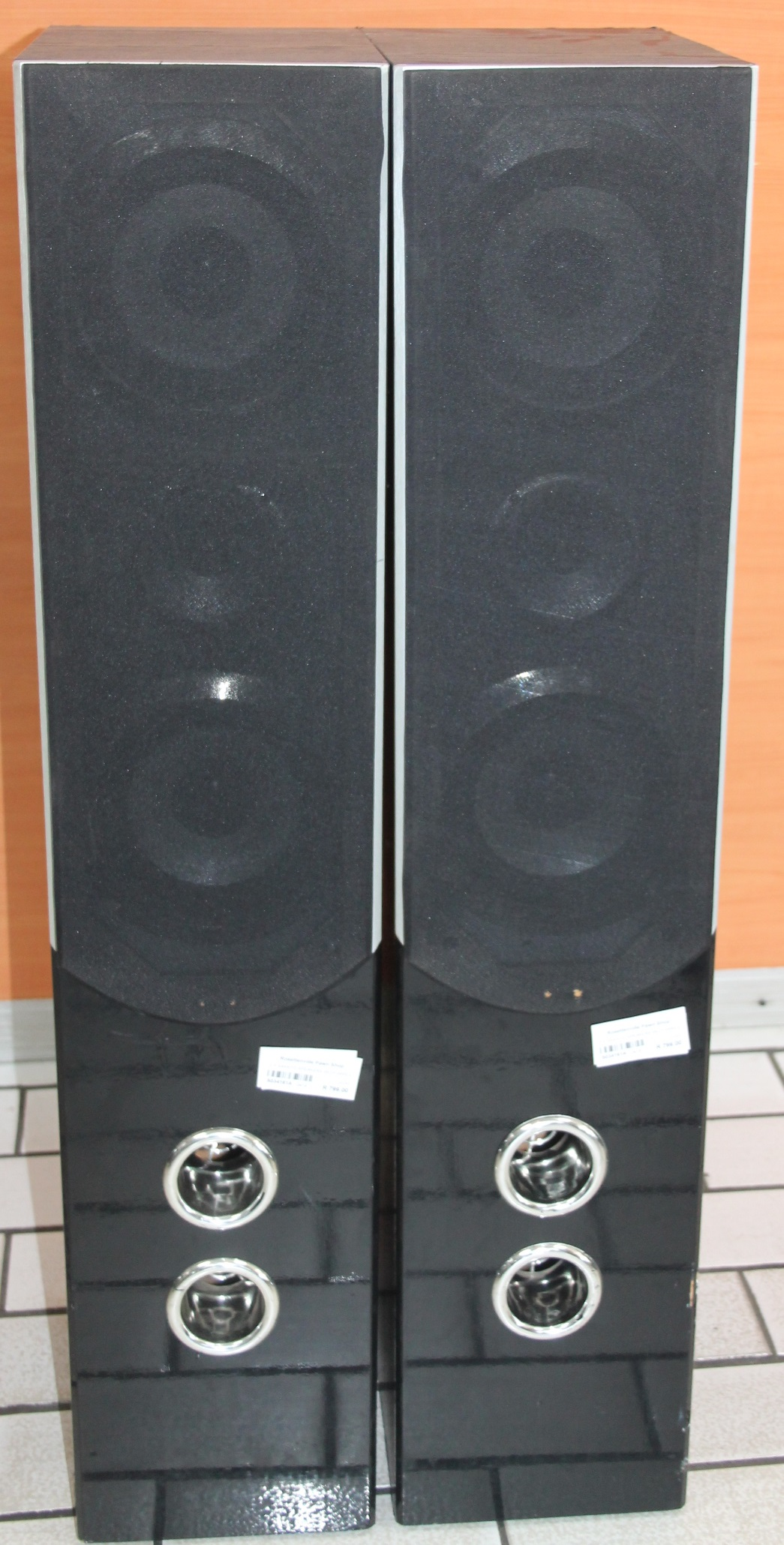 S034161A 2 x Saknyo speakers with wires #Rosettenvillepawnshop