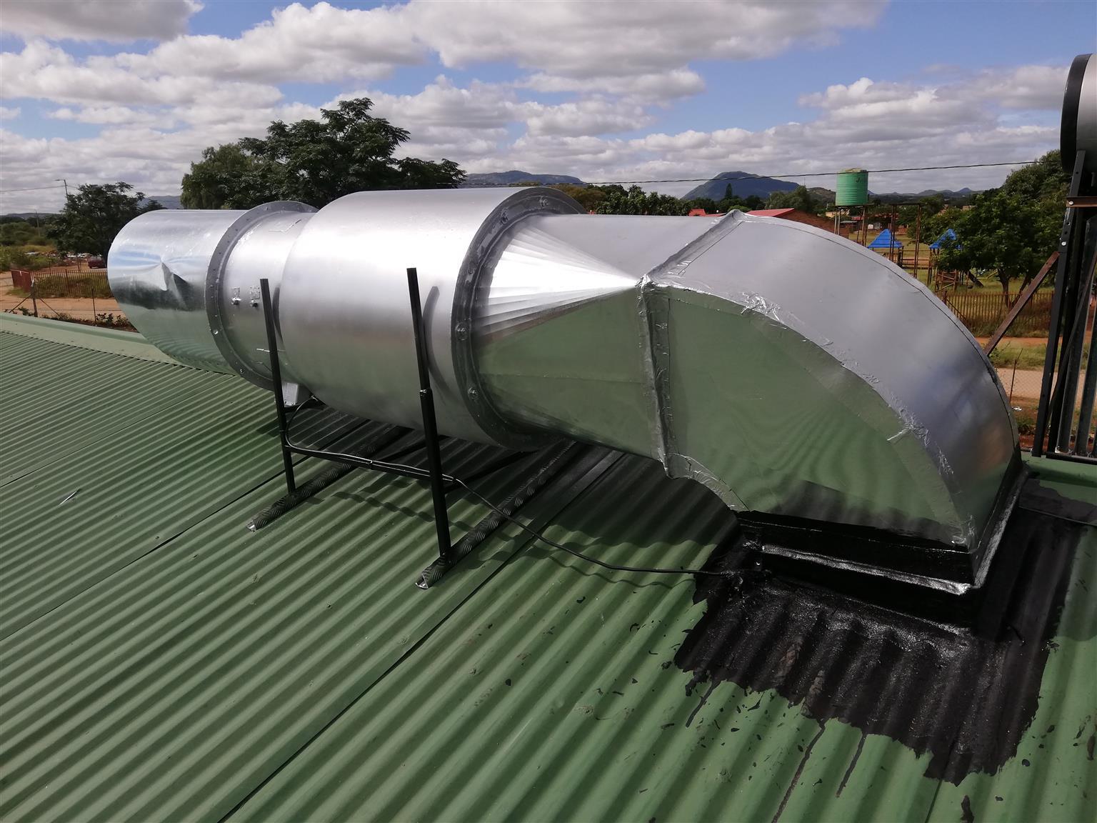 Island Extractor Canopy