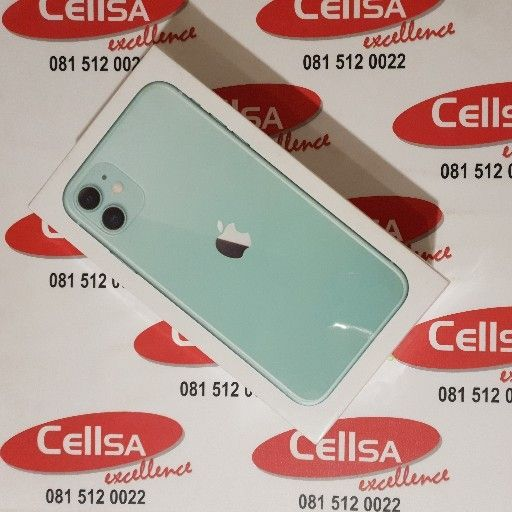 iPhone 11 Green 128g BRAND NEW SEALED - CellSA