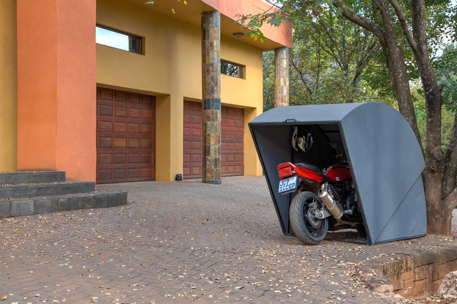 Protectabike Protective bike pods.