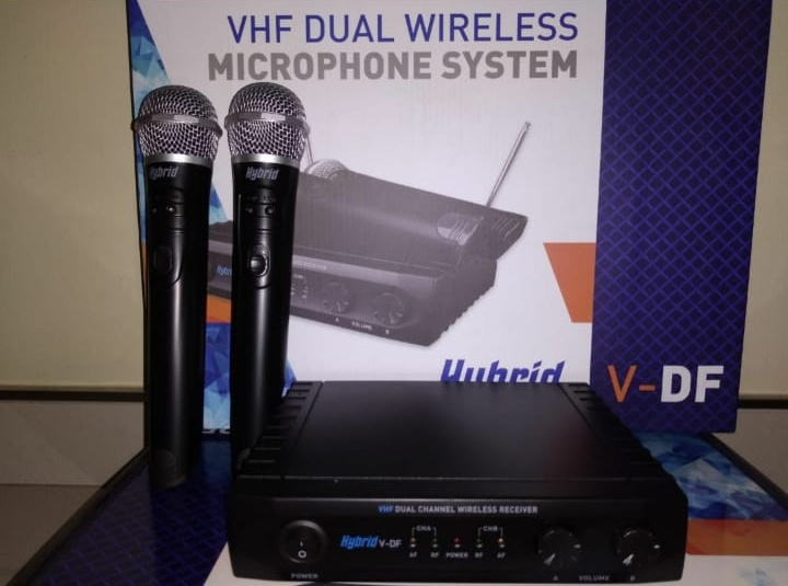 Hybrid Dual Microphone VHF