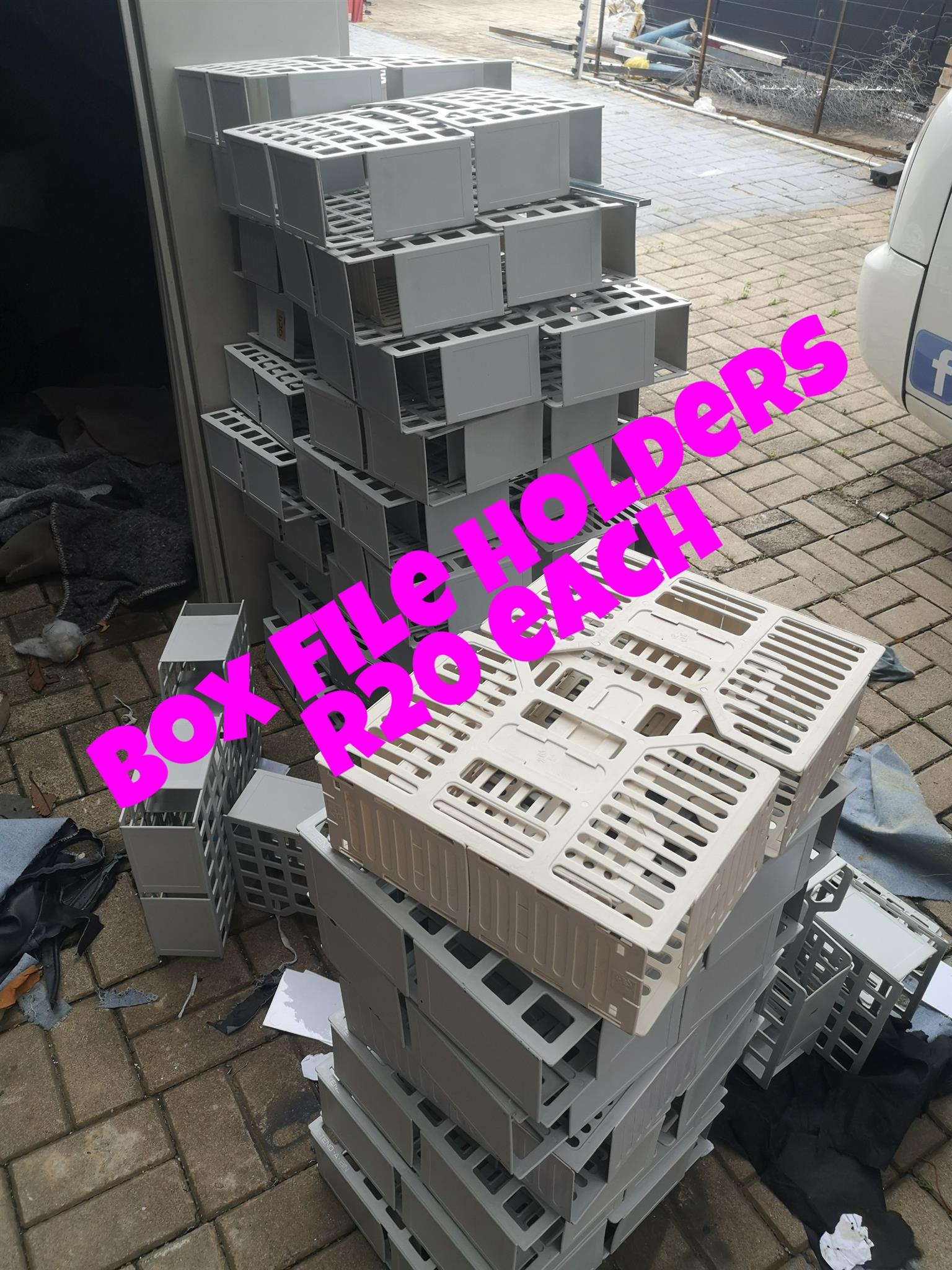 Box file holders