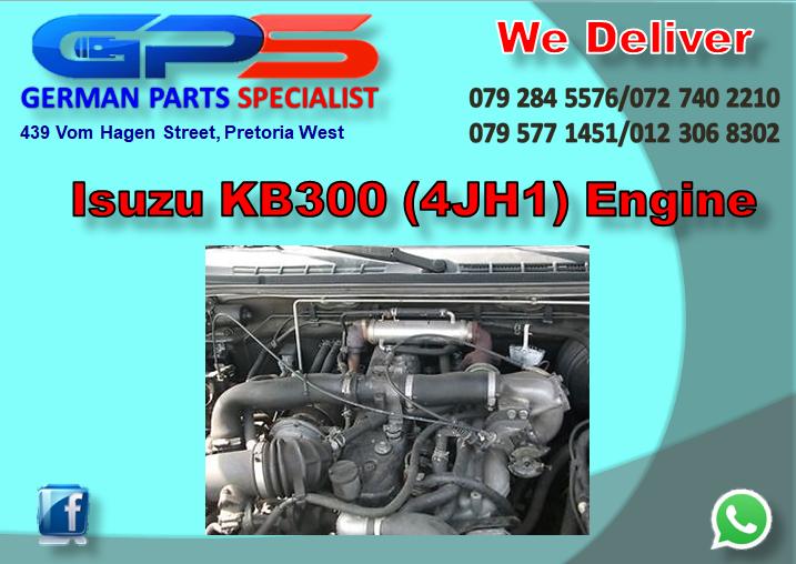 Isuzu KB300 (4JH1) Engine for Sale