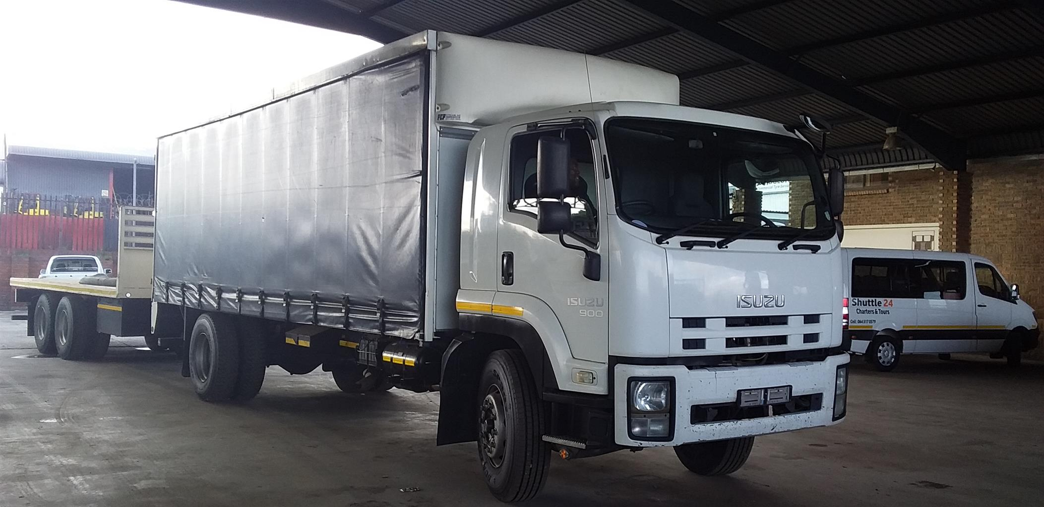 2012 ISUZU FRV 900 TAUTLINER BODY