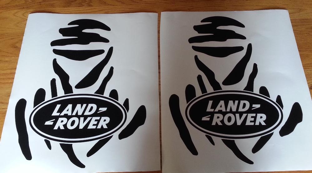 Land Rover 90 Defender decals stickers  vinyl cut graphics sets