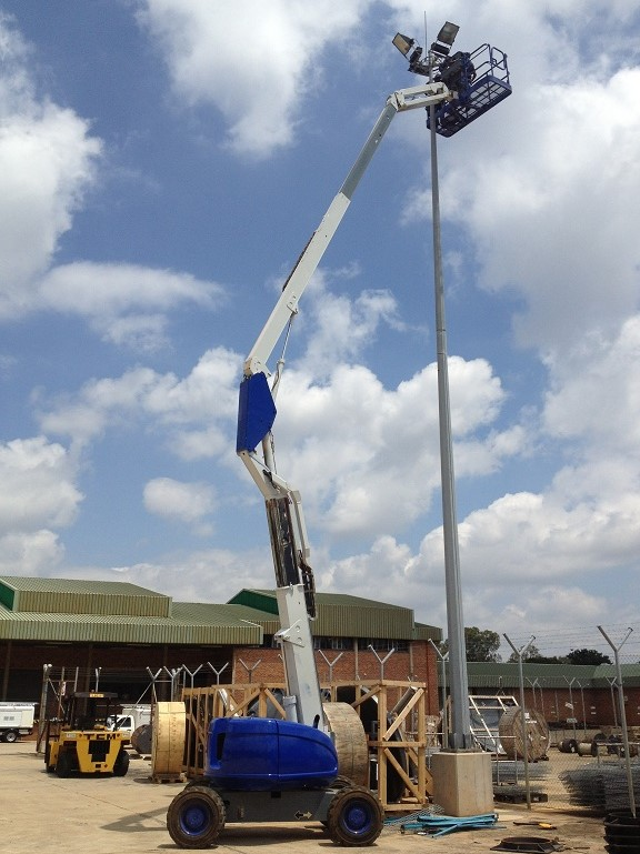 11  VerticalZA JLG600AJ - 20m Cherry Picker Boom Lift, TELESCOPIC Manlift    Junk Mail