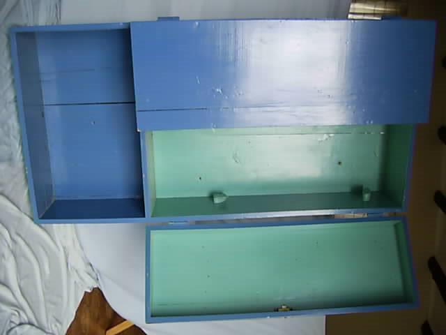 Wooden Tool Cupboard