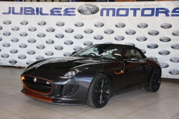 2013 Jaguar F-Type convertible