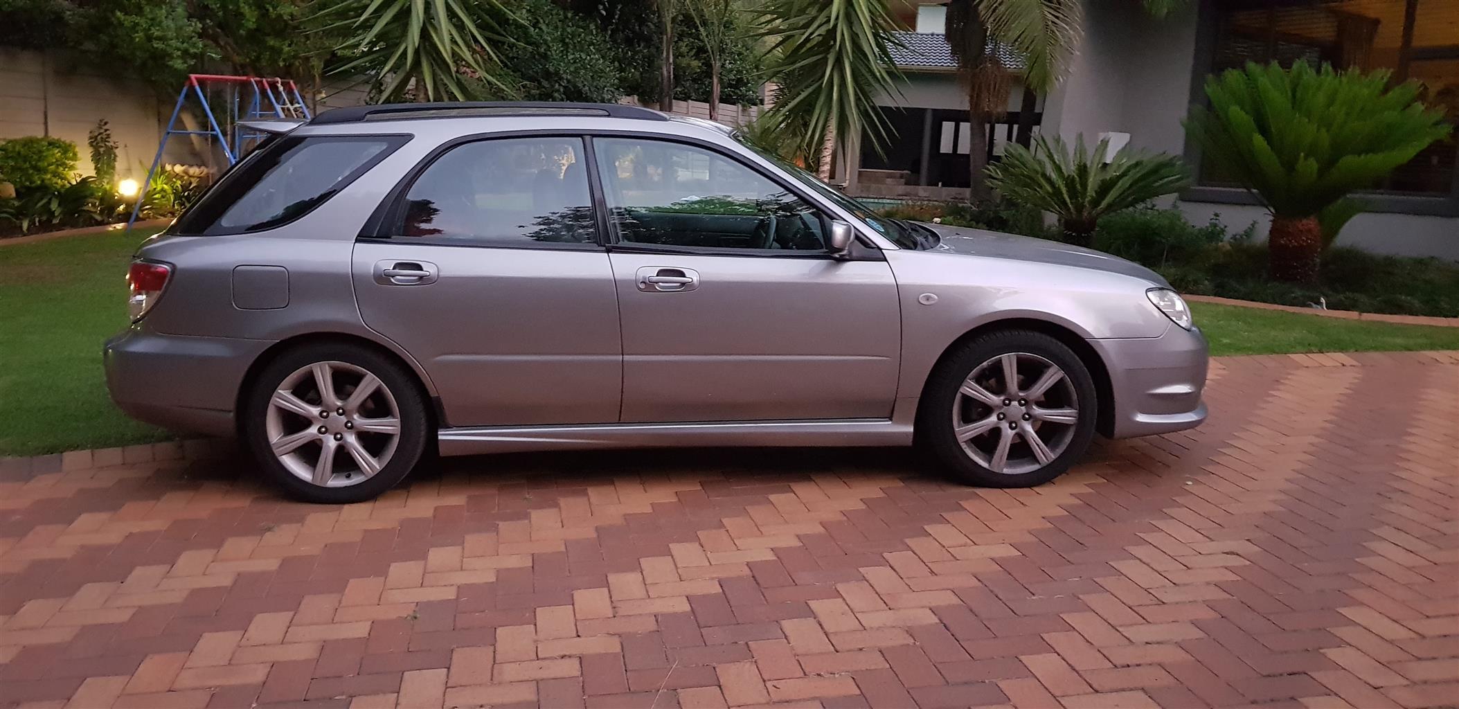 2007 Subaru Impreza 2.0 R sedan