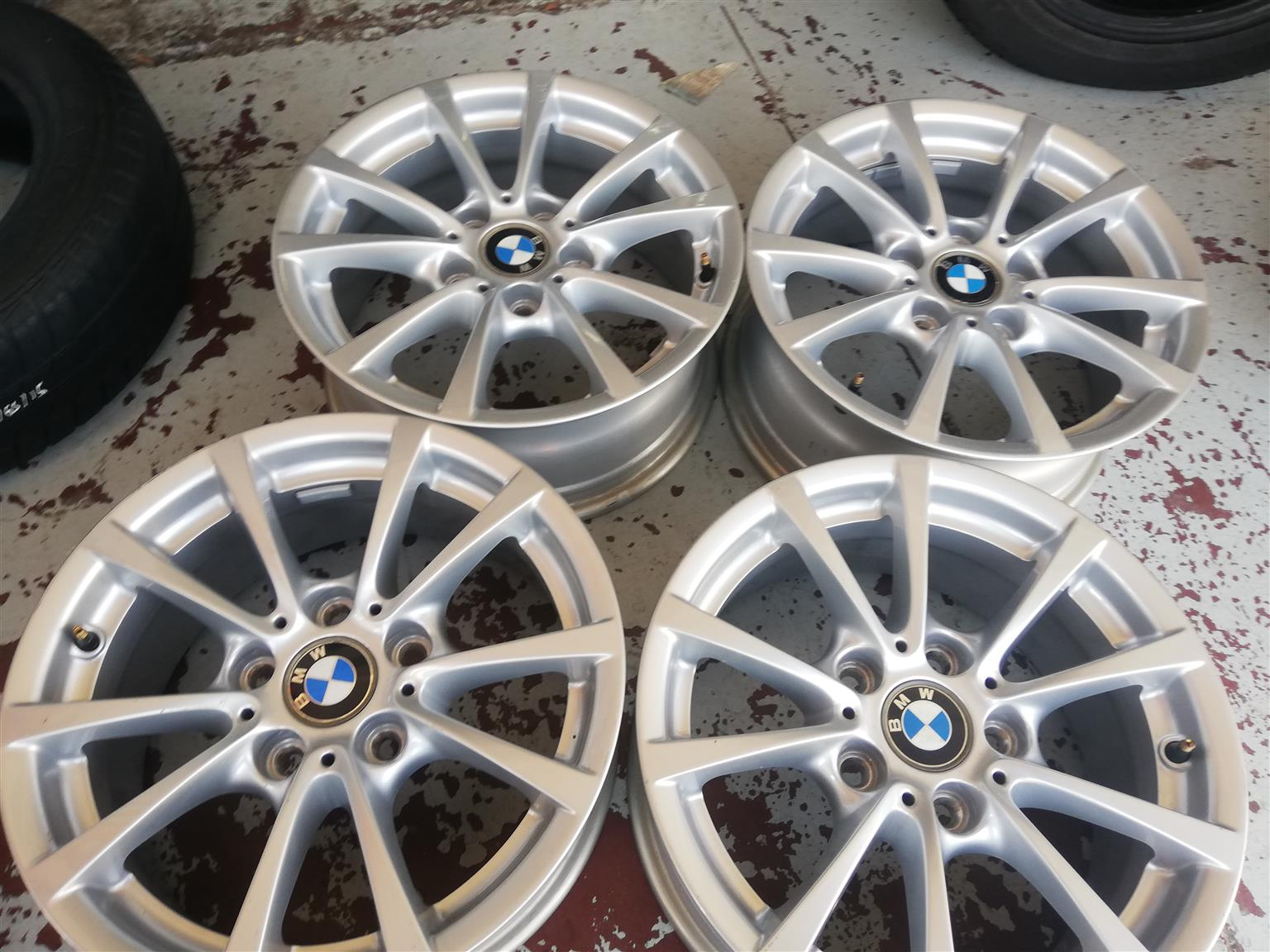 Bmw Mags Set Size 16 Original For Sell Junk Mail
