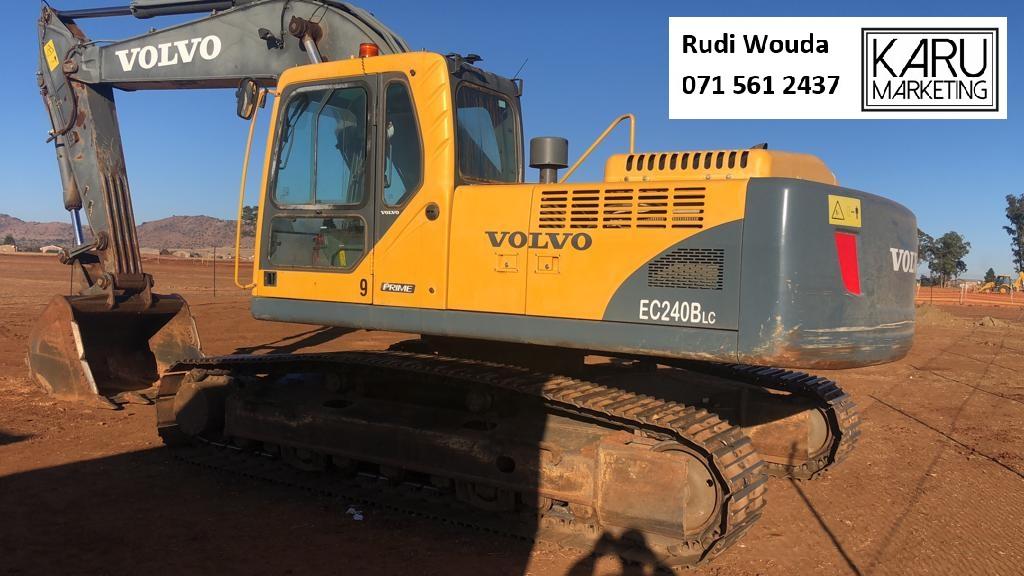 2013 Volvo Excavator EC240Blc Prime
