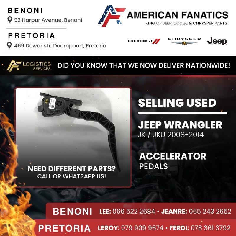 Selling used Jeep Wrangler JK  JKU 2008 - 2014 Accelerator Pedals
