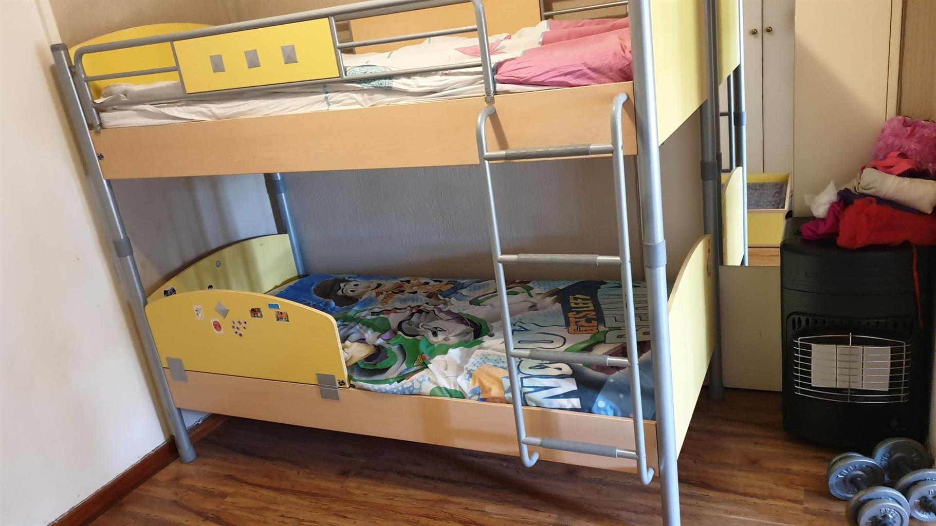 Cilek kids bunk bed with Cilek Junior mattresses and pull out bed