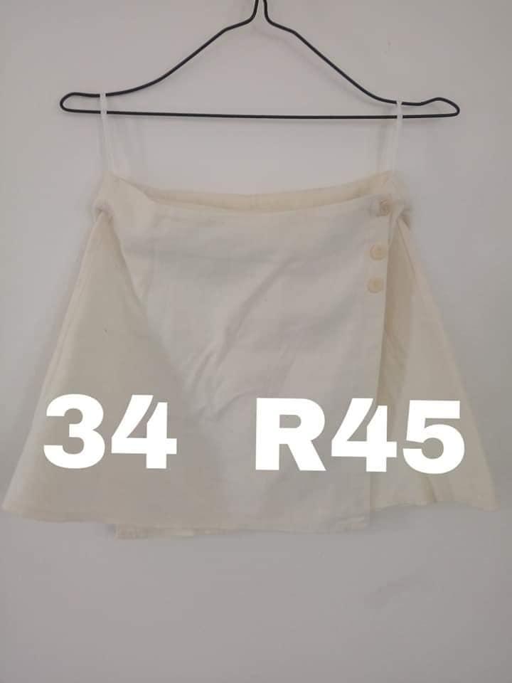 Off white skirt for sale
