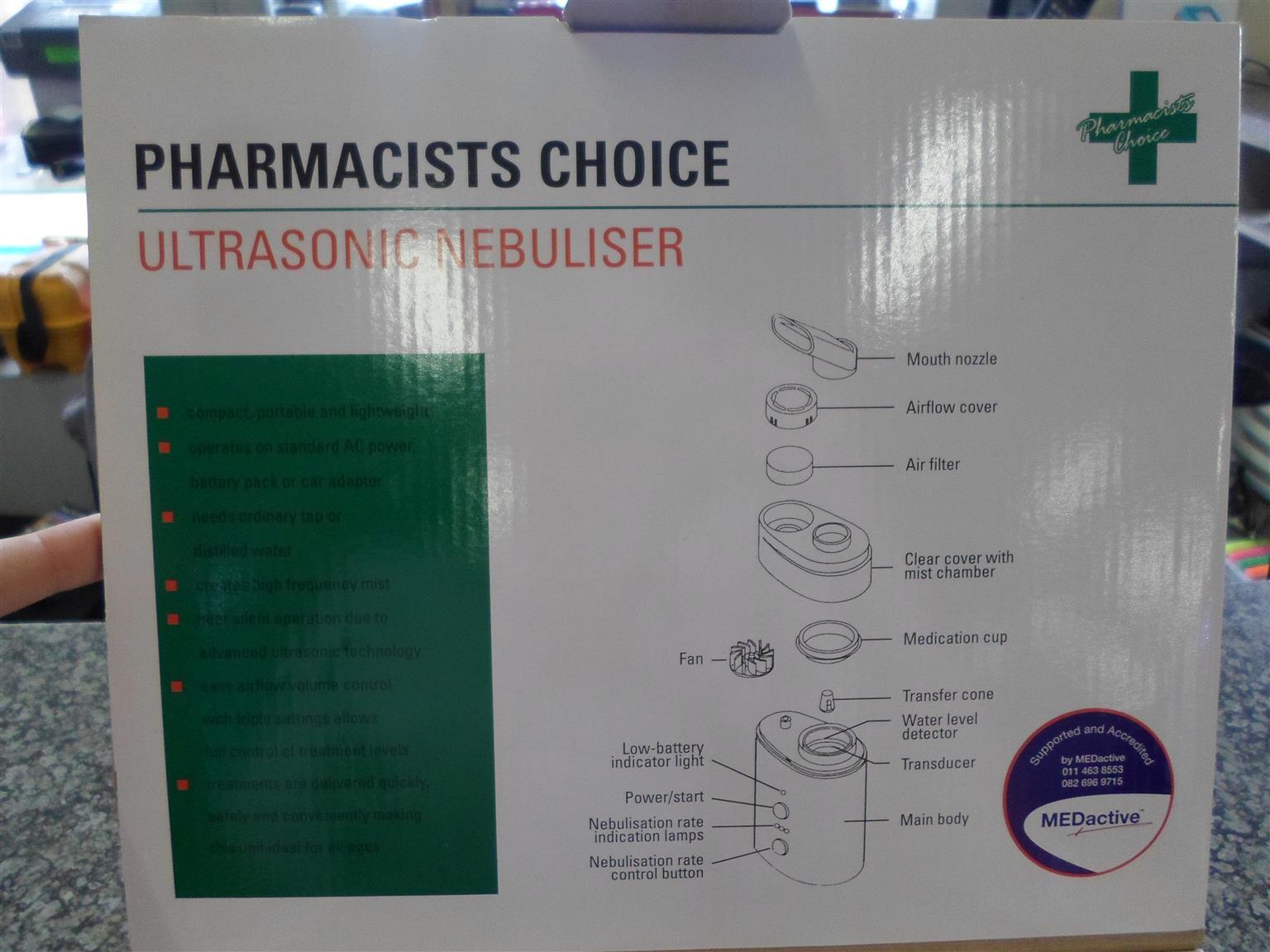 Pharmacist Choice Ultrasonic Nebuliser