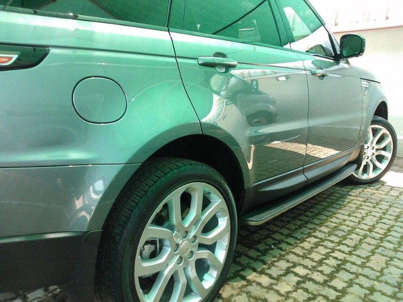 Range rover side steps
