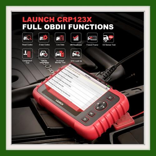 Launch CRP123X OBD2 newest release diagnostic tool