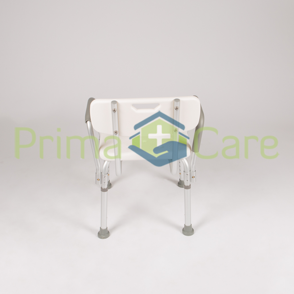 Shower Bench - Chair. With Back and Arm Rests. ON SALE. Now Only R799. While Stocks Last