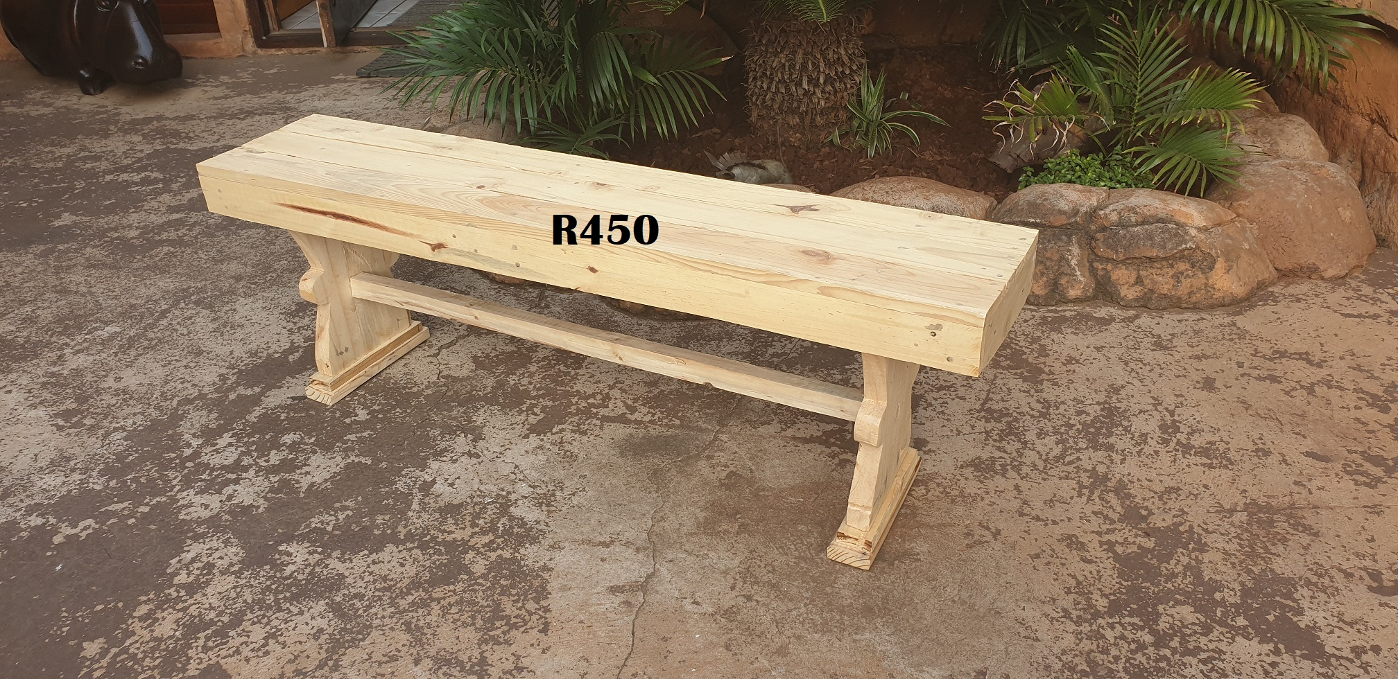 Solid Pine Bench (1300x270x430)