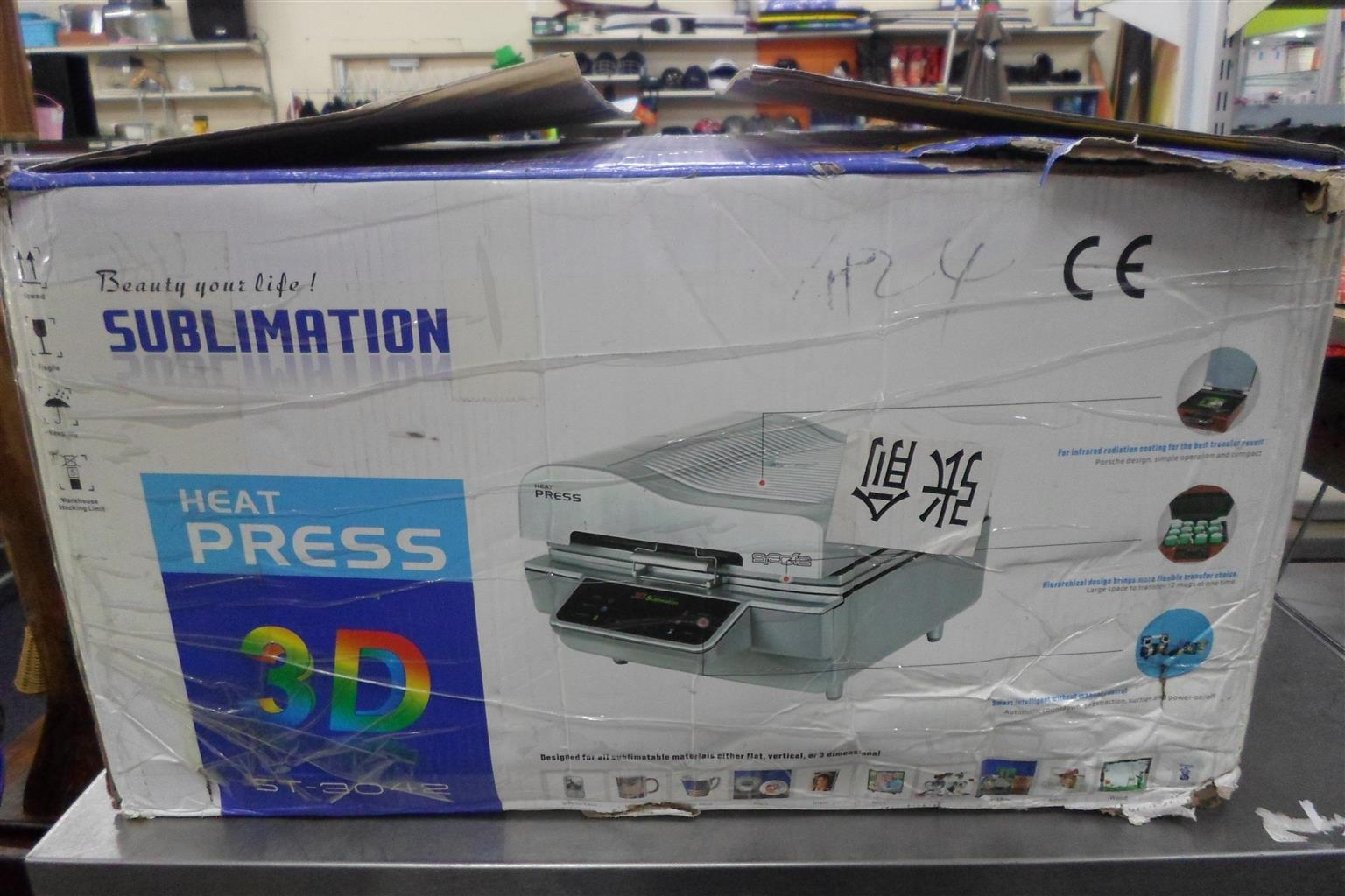 ST-3042 Sublimation 3D Heat Press