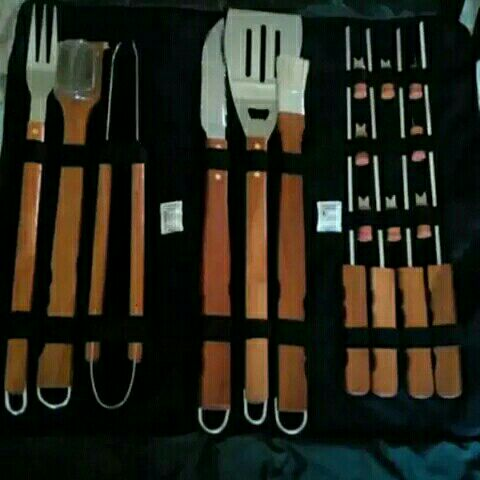 braai sets and pouch